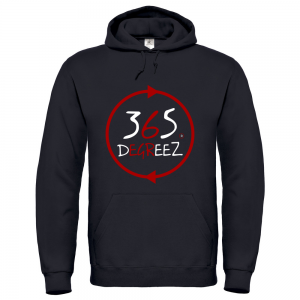 365 DegreeZ - Black (Red Circle)