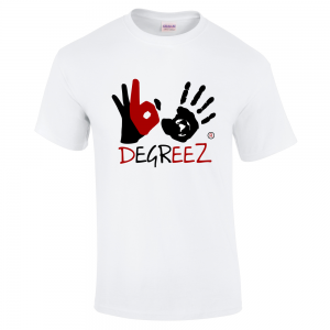 365 DEGREEZ Hands - White Unisex Shirt