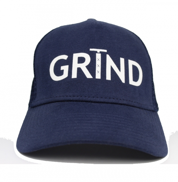GRIND | Trucker Cap with White Print
